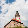 Tower of Cesky Kurmlov Castle — Stock Photo #31880329