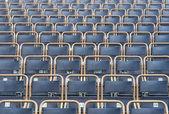 Outdoor theater seats — Stock Photo