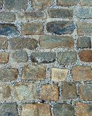 Medieval street background — Stock Photo