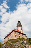 Tower of Cesky Kurmlov Castle — Stock Photo