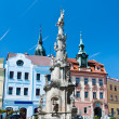 Trinity column, Jindrichuv Hradec — Stock Photo