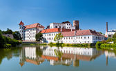 Jindrichuv Hradec Castle — Stock Photo