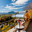 Alps view telescope in Salzburg, Austria — Stock Photo #38206249