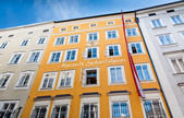 Birthplace of Wolfgang Amadeus Mozart — Stock Photo
