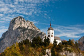 Johannesberg Chapel, Traunkirchen, Austria — Stock Photo