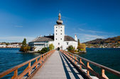 Ort castle bridge, Austria — Stock Photo