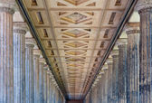 Colonnade in New Museum, Berlin — Stock Photo