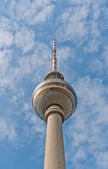 Top of television tower, Berlin — Stockfoto