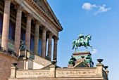 Old National Gallery, Berlin — Stock Photo