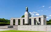 Soviet World War 2 memorial in Berlin — Stock Photo