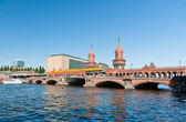 Oberbaumbrucke bridge, Berlin — Stock Photo
