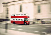 Vintage London bus — Stock Photo