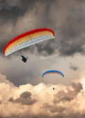 Hang gliders — Stock Photo