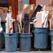 Garbage cans — Stockfoto #14320765