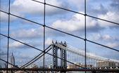манхэттенский мост — Стоковое фото