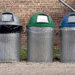 Trash cans - Stock Photo