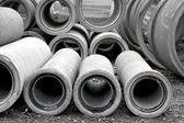 Concrete pipes — Stock Photo