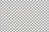 Chainlink fence with snow — Stock Photo