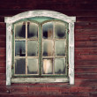 Royalty-Free Stock Photo: Wooden wall with window