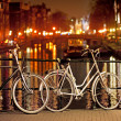 Stock Photo: Bikes in Amsterdam