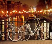 Bikes in Amsterdam — Stock Photo