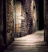 Dark alley — Stockfoto