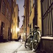 Royalty-Free Stock Photo: Bike in Stockholm old town