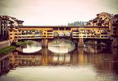 Ponte Vecchio — Stock Photo