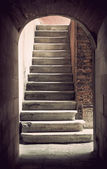 Ancient staircase — Stock Photo