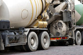 Concrete mixer — Stock Photo