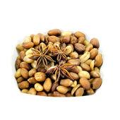 Fried peanuts — Stock Photo