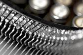 Lettere su typevriter d'epoca — Foto Stock