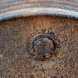 Royalty-Free Stock Photo: Rusty oil barrel