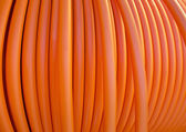 Orange cable — Stock Photo