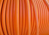 オレンジ色のケーブル — ストック写真