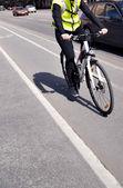 Ciclista — Foto Stock