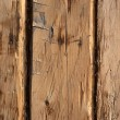 Stock Photo: Rough wooden wall