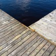 Wooden jetty — Stock Photo