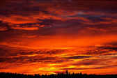 カラフルな空 — ストック写真