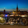 Bikes in Stockholm — Stock Photo #31433071