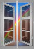 Arco iris colorido — Foto de Stock