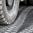 Truck wheel — Stock Photo #33247655