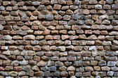 Wall with natural rocks — Stock Photo