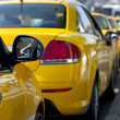 Stock Photo: Taxi cabs