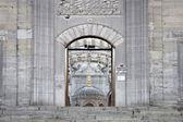 Entrance to Yeni Camii — Foto Stock