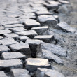 Cubic street stones — Stock Photo