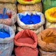 Paint pigment for sale — Stock Photo