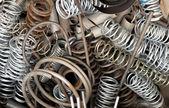 старые металлические пружины — Стоковое фото