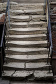 Ancient stone staircase — Stock Photo