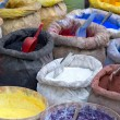 Sacks with paint pigment — Stock Photo #36521241